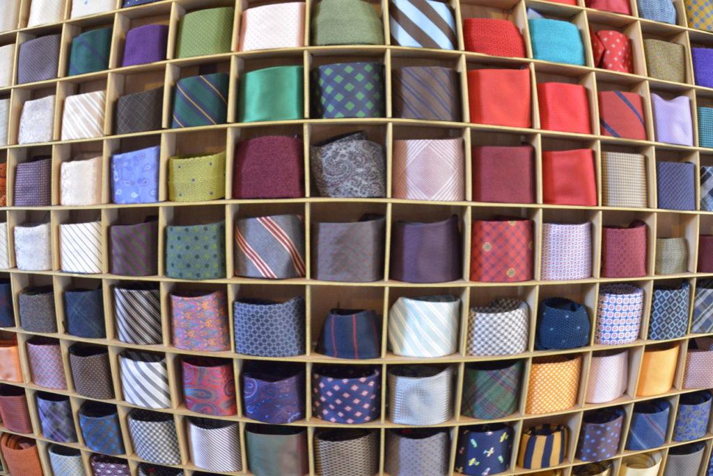 Krawattenwand