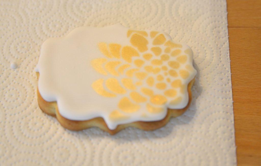 mein Cookie mit Airbrush