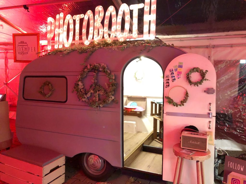 camper photo booth